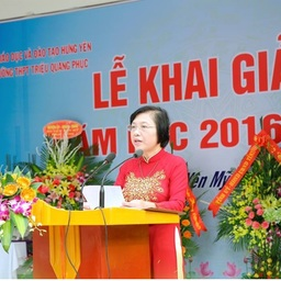 Introduction about Trieu Quang Phuc High School